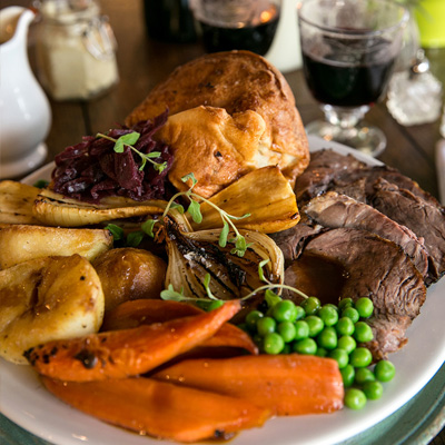 Quality Sunday food at The Crown & Anchor