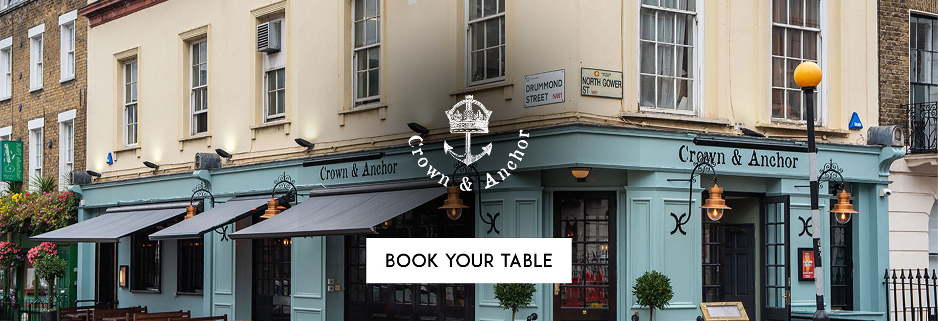 Book Your Table The Crown & Anchor